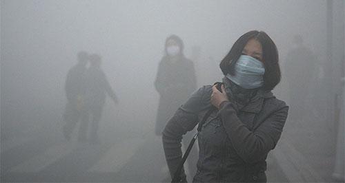 نصف الوفيات العالمية الناجمة عن التلوث في 2015 في الصين والهند