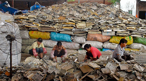 الصين تعتزم إعادة تدوير 350 مليون طن من المخلفات
