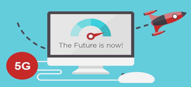 شبكات الجيل الخامس للاتصالات تعد بسرعات تحميل مذهلة