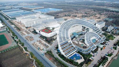 China's 'sun king' who built a solar city