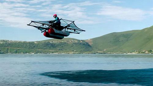 Kitty Hawk Flyer, la « moto volante » financée par le patron de Google