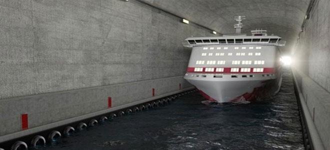 النرويج تخطط لبناء أول نفق مائي للسفن في العالم