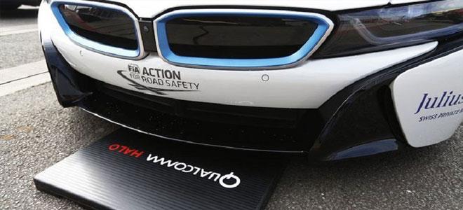 كوالكوم تعرض تقنية جديدة لشحن السيارات الكهربائية لاسلكيا