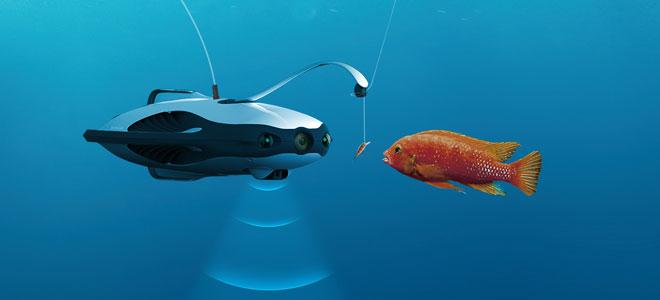 """PowerRay"" أول غواصة من غير ربان من شأنها صيد الأسماك"
