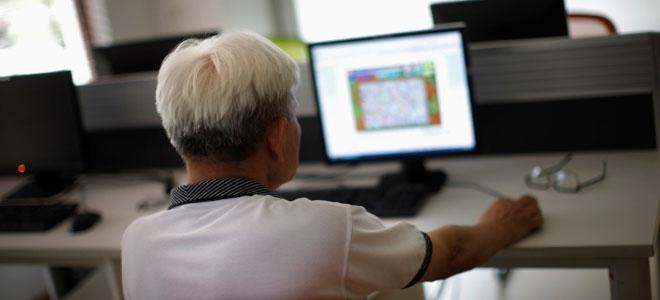 لعبة كمبيوتر تساعد في تحسين ذاكرة مرضى التراجع الادراكي