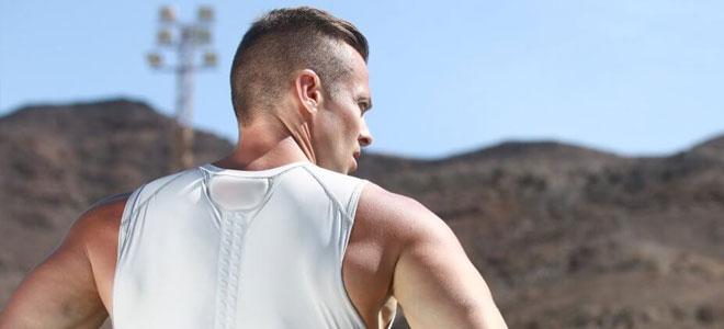 قميص ذكي يراقب معدل التنفس في الجسم