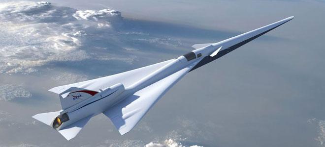 """""""ناسا"""" تكشف عن طائرة هادئة أسرع من الصوت"""