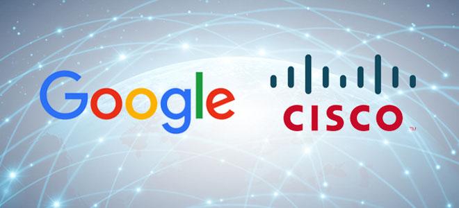 """شراكة بين """"سيسكو"""" و""""جوجل"""" لتطوير تكنولوجيا الحوسبة"""