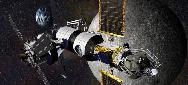 روسيا وأمريكا تتفقان على بناء المحطة القمرية الدولية