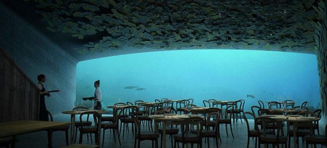 أول مطعم تحت الماء في أوروبا يفتتح 2018