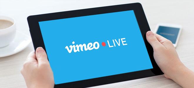 Vimeo تعلن إطلاق خاصية البث المباشر