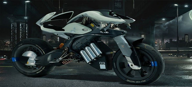 ياماها تطرح دراجة المستقبل الذكية