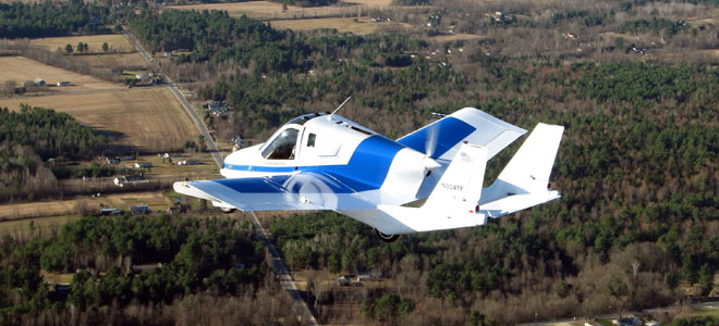 أول سيارة طائرة في العالم للبيع بـ 261 ألف دولار