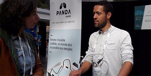 Panda Guide, des yeux pour les aveugles