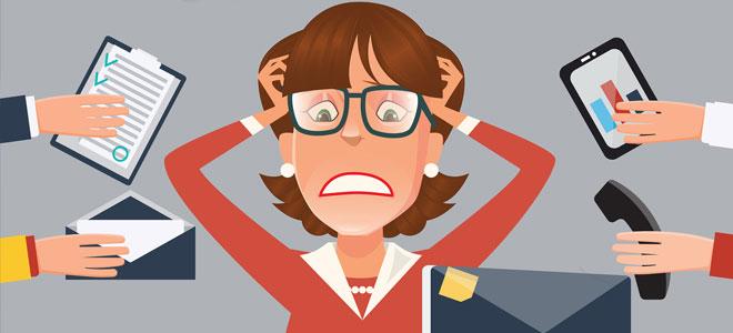 الضغط النفسي يؤثر سلبياً على اتخاذ القرارات