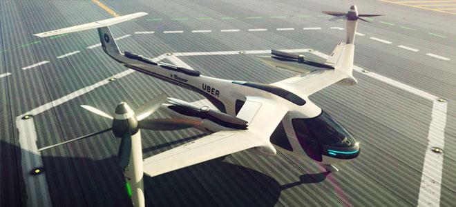 «ناسا» و«أوبر» لتطوير التاكسي الطائر