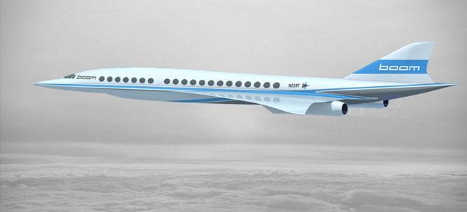 طائرة (بوم) الأسرع من الصوت تدخل الخدمة في 2020
