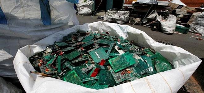 النفايات الإلكترونية تسجل مستوى مرتفعا جديدا والخسائر تشمل ذهبا وفضة