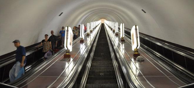 لا تنظر للأسفل: أعمق محطة مترو في العالم!
