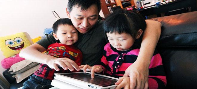 دراسة: ثلث الأطفال دون سن السادسة بالصين يتصفحون الإنترنت يوميا