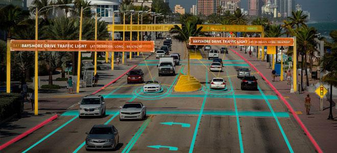 إل جي تقدم تقنيات المعلومات والإتصالات لسيارات ذاتية القيادة