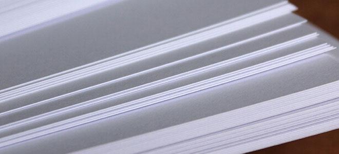 علماء يبتكرون ورق طباعة يمكن استخدامه عدة مرات