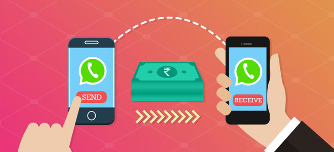 واتساب يختبر ميزة تحويل الأموال بين المستخدمين
