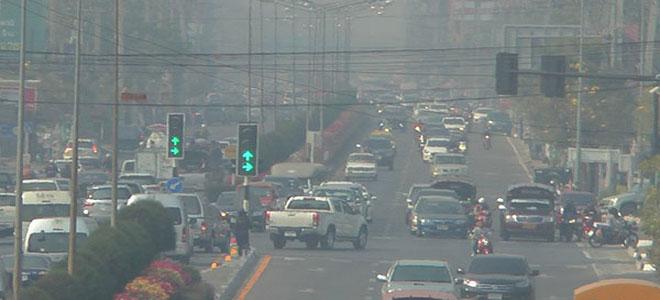 """تلوث الهواء في بانكوك يصل إلى درجة """"غير صحية """""""