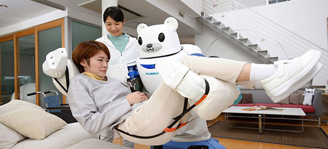 """""""الروبوت"""".. حل مثالي لخدمة كبار السن في اليابان"""