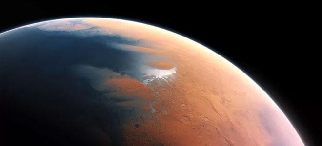 عمر محيطات المريخ مئات الملايين من السنوات