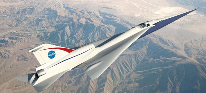 ناسا تصمم طائرة تجتاز سرعة الصوت بدون ضجيج