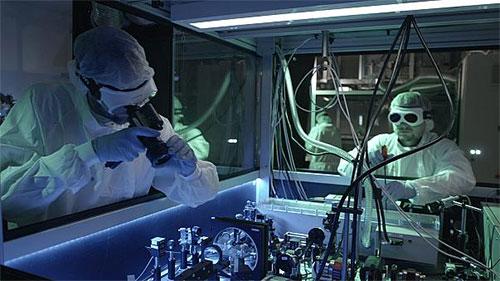 L'UE se dote du plus puissant laser au monde