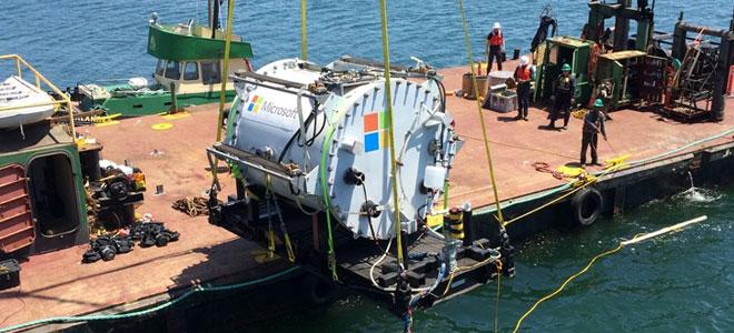 """""""مايكروسوفت"""" تقيم مركز بيانات في أعماق البحر"""
