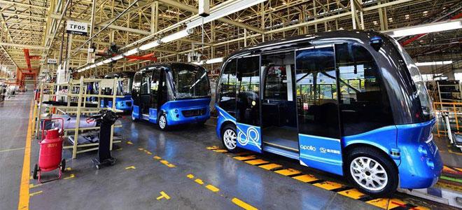 """الصين تعلن حافلاتها """"ذاتية القيادة"""" لاستخدامها في السفر والمطارات"""