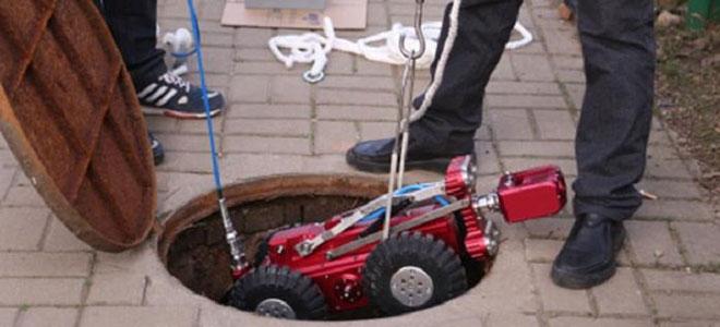 """الصين تطور """"روبوت"""" لمراقبة شبكات الأنابيب تحت الأرض"""