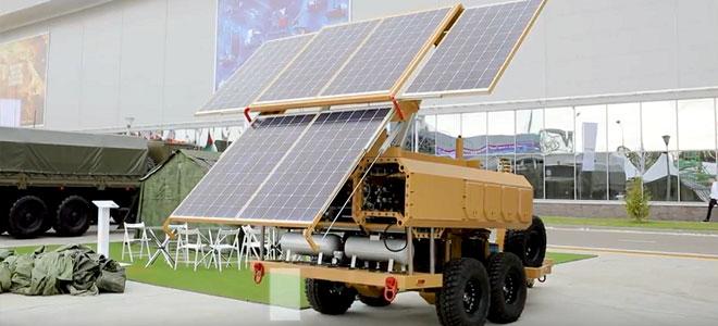 روسيا تطلق وحدات متنقلة للطاقة الشمسية
