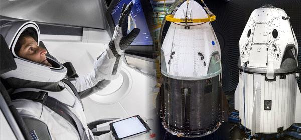 SpaceX : la version habitée de la capsule Dragon prête pour un vol d'essai