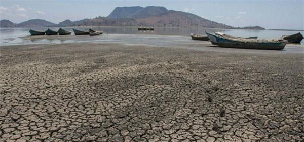 Au Malawi, le lac Chilwa n'a plus d'eau