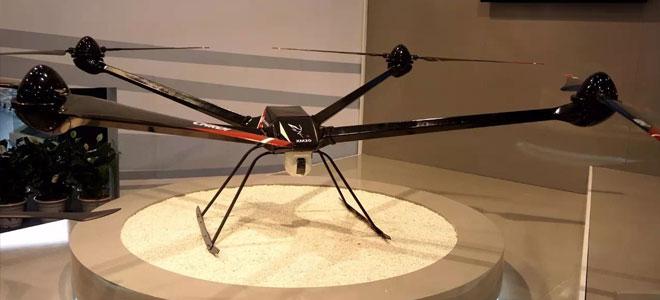 طائرة صينية بدون طيار تحلق لارتفاع 5000 متر