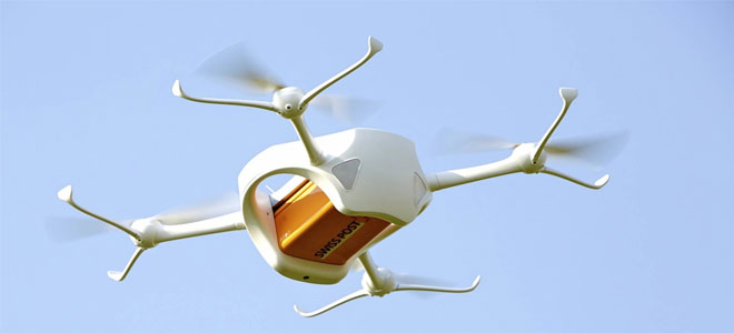 البريد السويسري: توسيع استخدام الطائرات بدون طيار